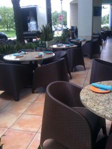 Aruba Outdoor Restaurant Chairs