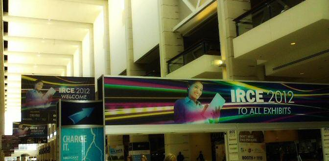 Enterance to IRCE 2012