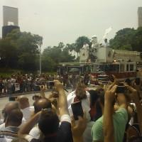 Burnie at Miami Heat Parade