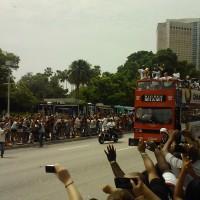 Dwyane Tyrone Wade at Miami Heat Parade