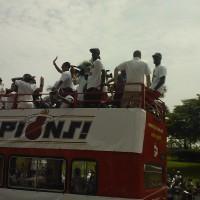 LeBron James AKA the KING at Miami Heat Parade