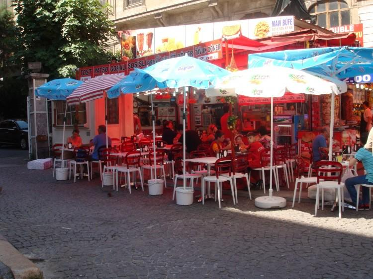 Hot August in Istanbul