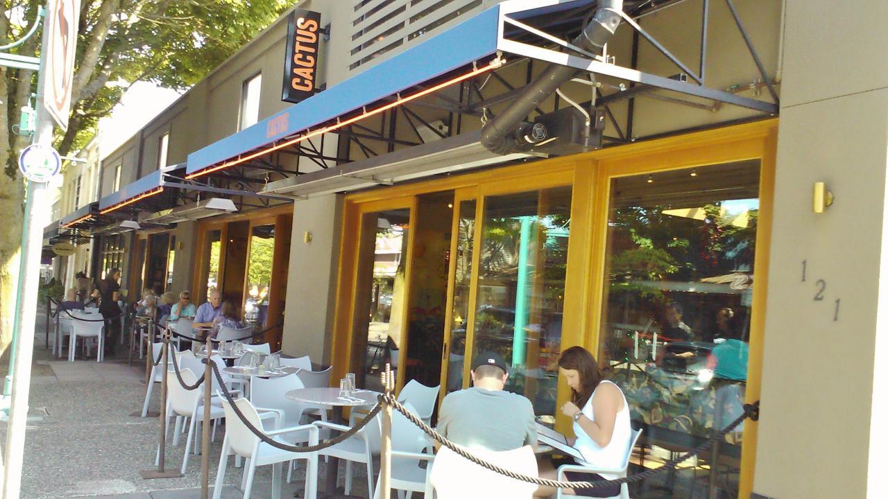 Cactus Restaurant Kirkland Wa Outdoor Patio Blog