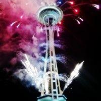 New Year's Eve at the Space Needle