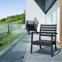 Artemis XL - Black Club Chair