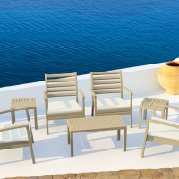 Dove Gray Artemis XL Club Seating Set