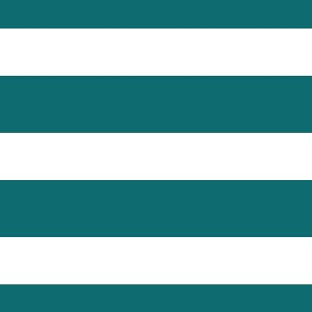 Teal White Stripe