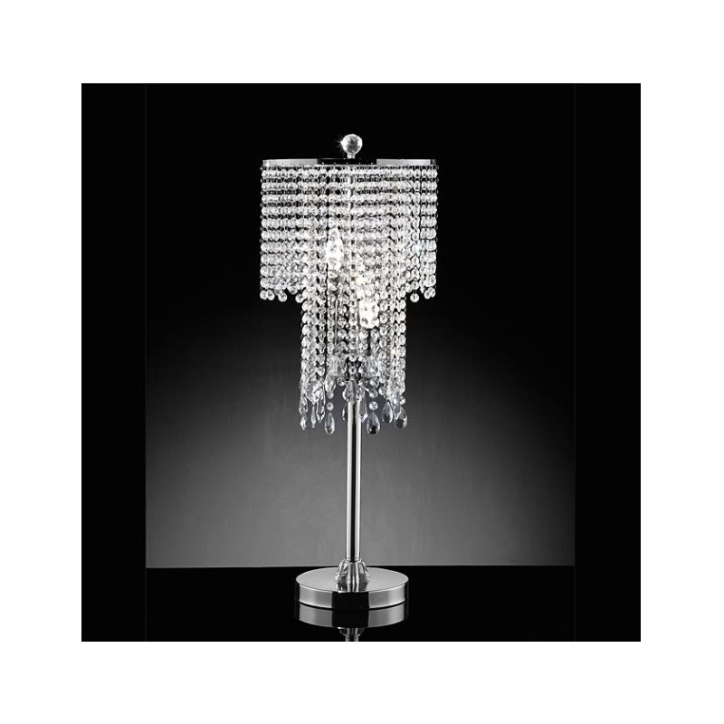 Cassandra Crystal Table Lamp