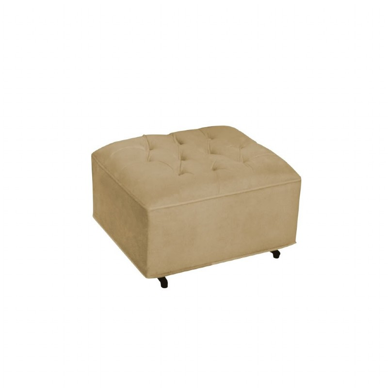Furniture: Ottomans: Grand Ottoman Coffee Bella Velvet