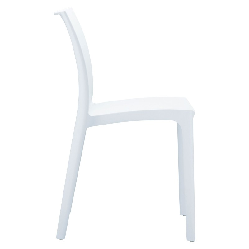 Siesta Maya Plastic Dining Chair White alternative photo