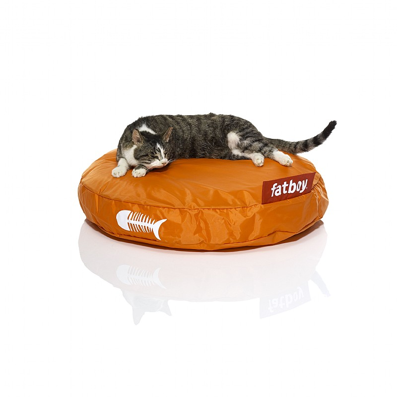 Pets: Cat Beds: Fatboy Catbag Cat Bed Orange