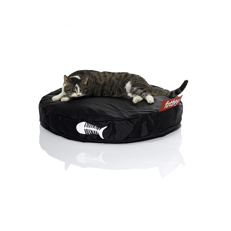 Pets: Cat Beds: Fatboy Catbag Cat Bed Black