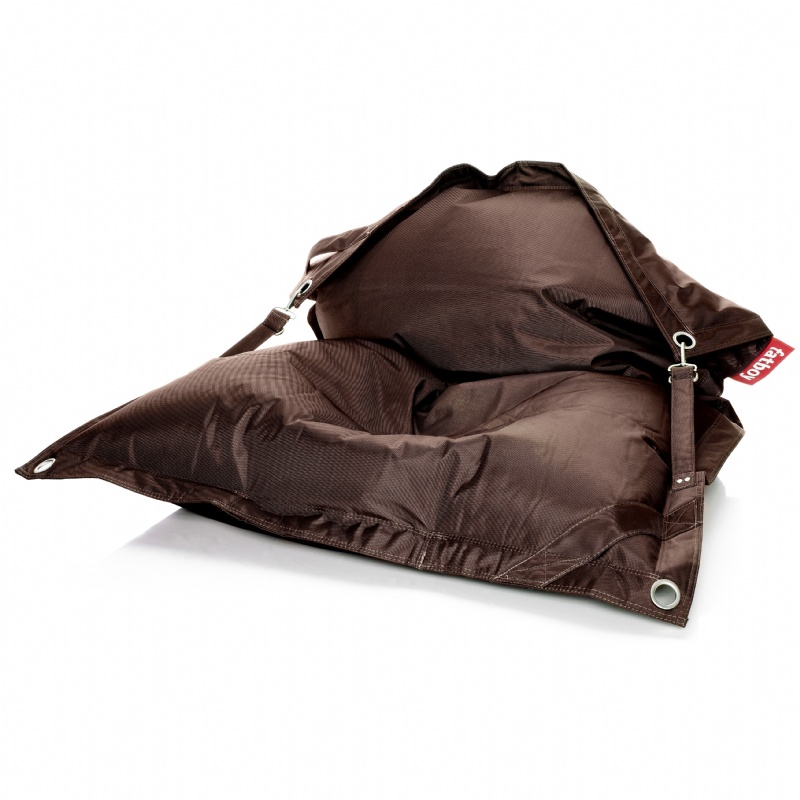 Outdoor Furniture: Bean Bags: Fatboy Outdoor Beanbag Lounger Brown