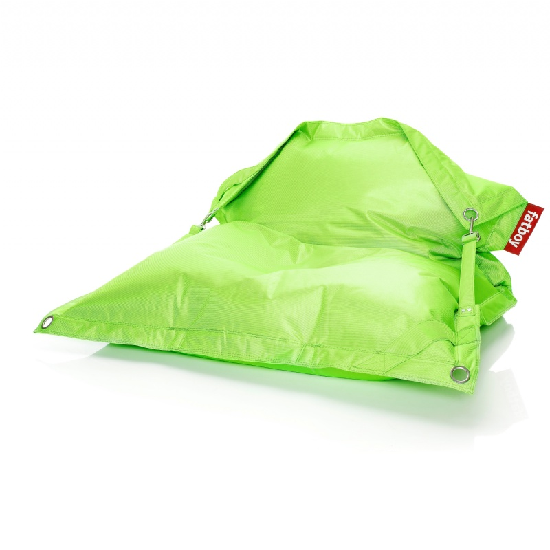 Outdoor Furniture: Bean Bags: Fatboy Outdoor Beanbag Lounger Lime Green