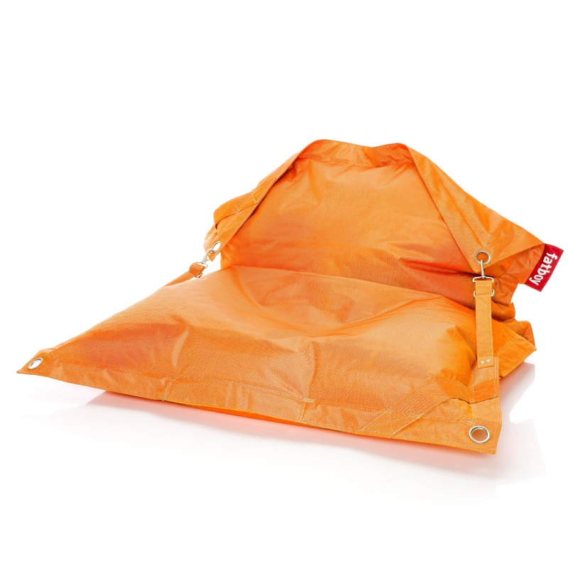 Fatboy Outdoor Bean Bag Lounger Orange 55x75 : Bean Bag Loungers