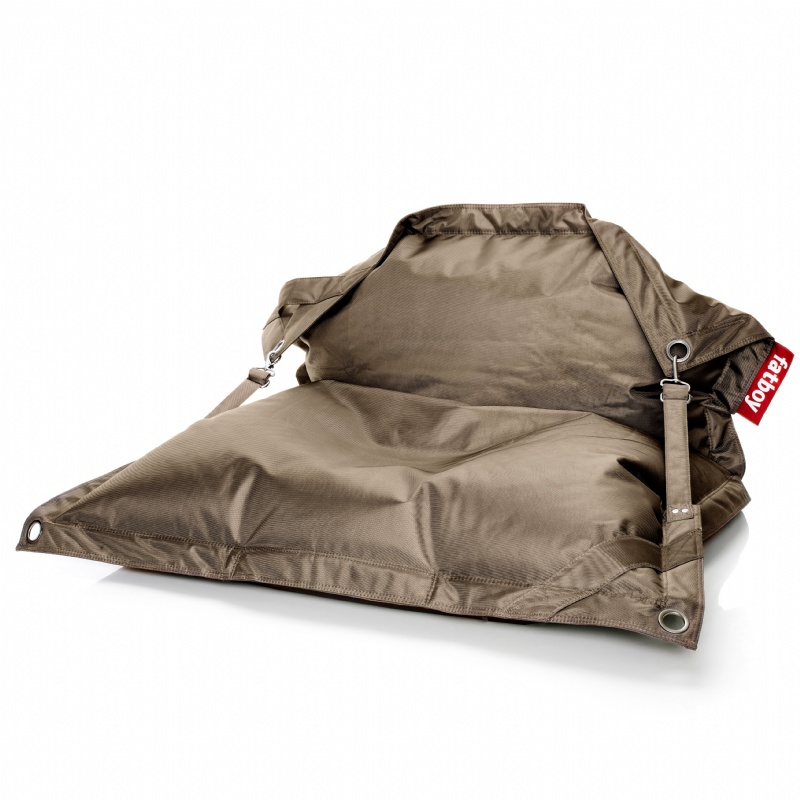 Bean Bag Pool Floats: Fatboy Outdoor Beanbag Lounger Taupe
