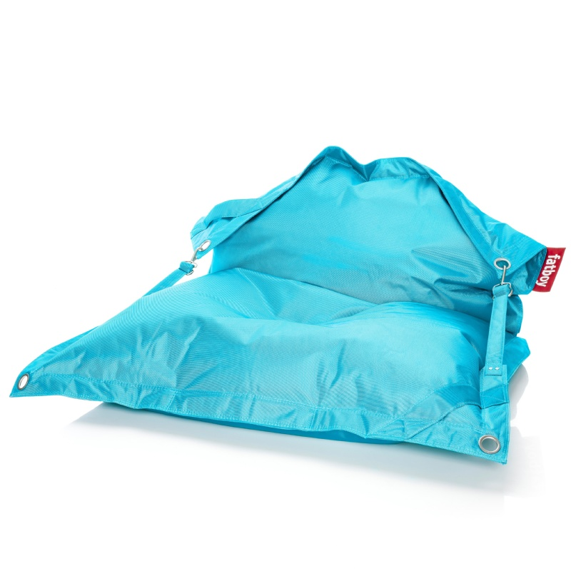 Blue Bean Bags: Fatboy Outdoor Bean Bag Lounger Turquiose 55x75