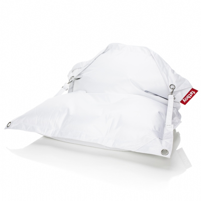 Fatboy Outdoor Bean Bag Lounger White 55x75 : Bean Bag Loungers