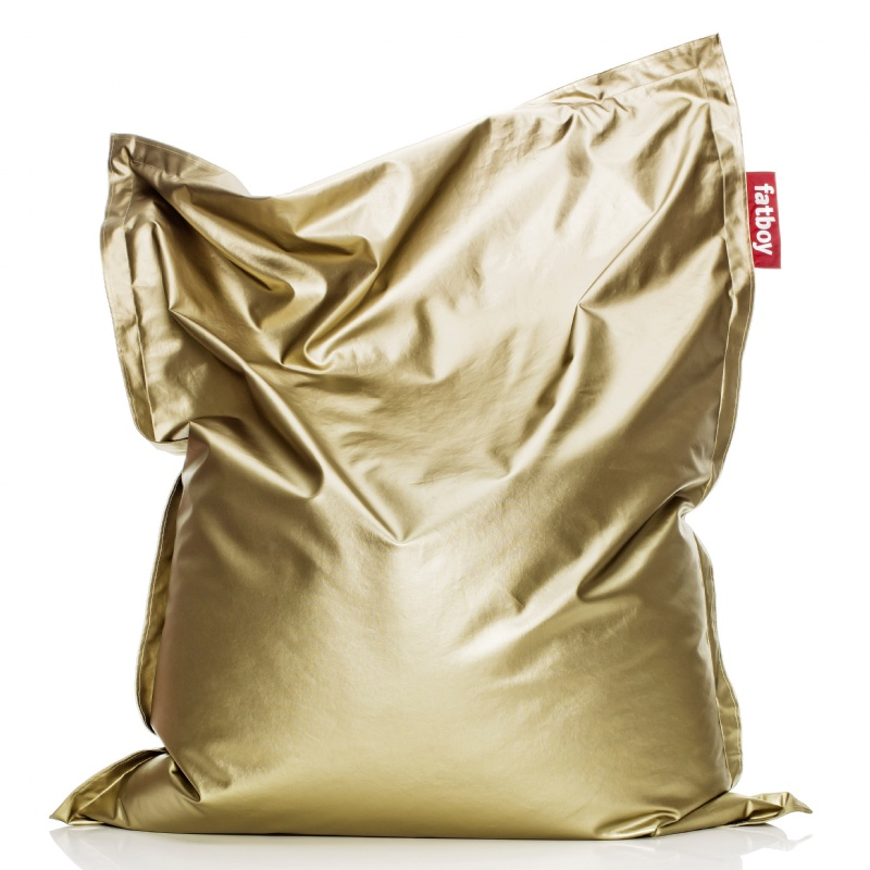 Fatboy® Metahlowski Bean Bag Goldi