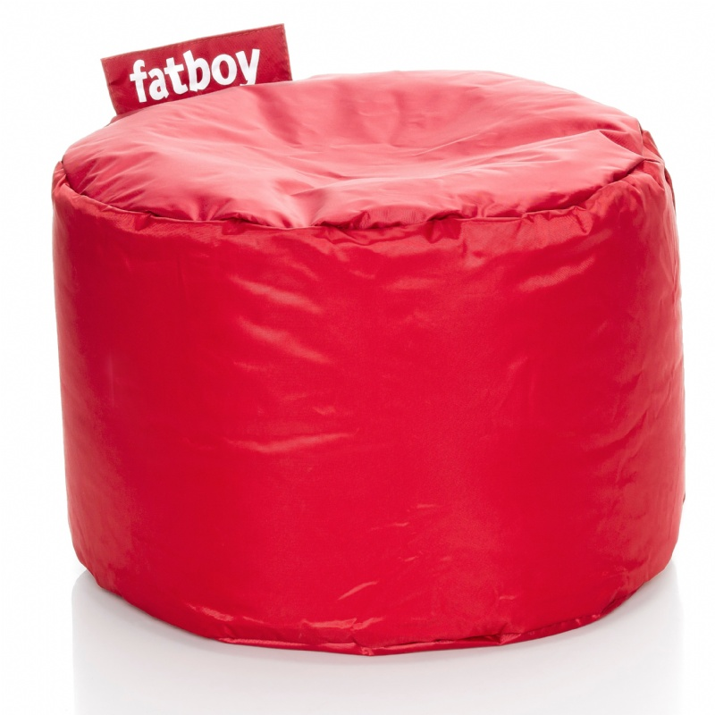 Red Bean Bags: Fatboy Point Kids Bean Bag Chair Red
