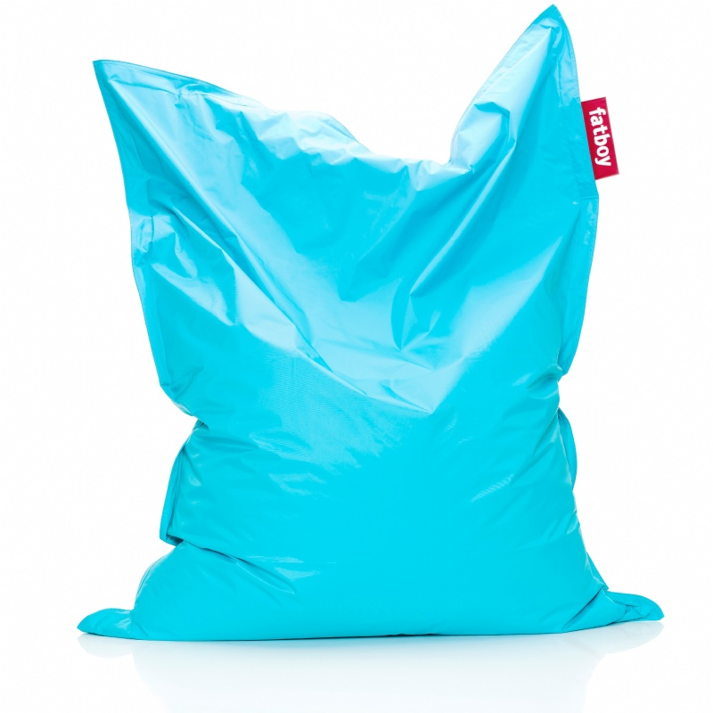 Bean Bag Chairs: Fatboy Original Bean Bag Turquoise 55x70