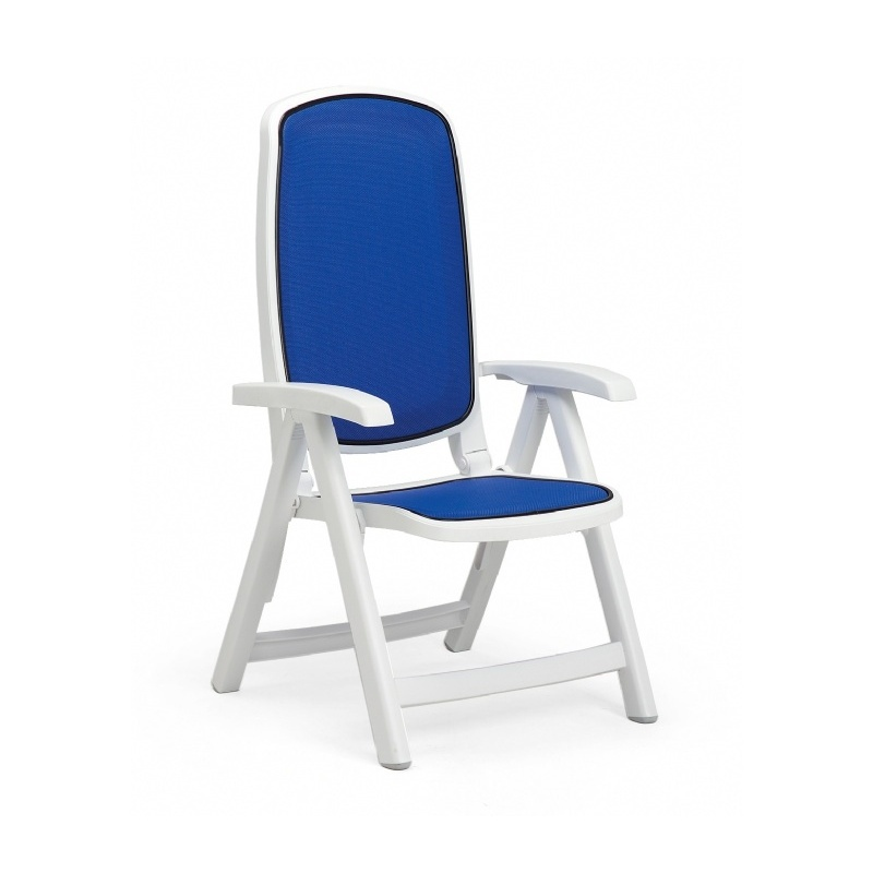 Delta Adjustable Folding Sling Chair : Folding Outdoor Chairs
