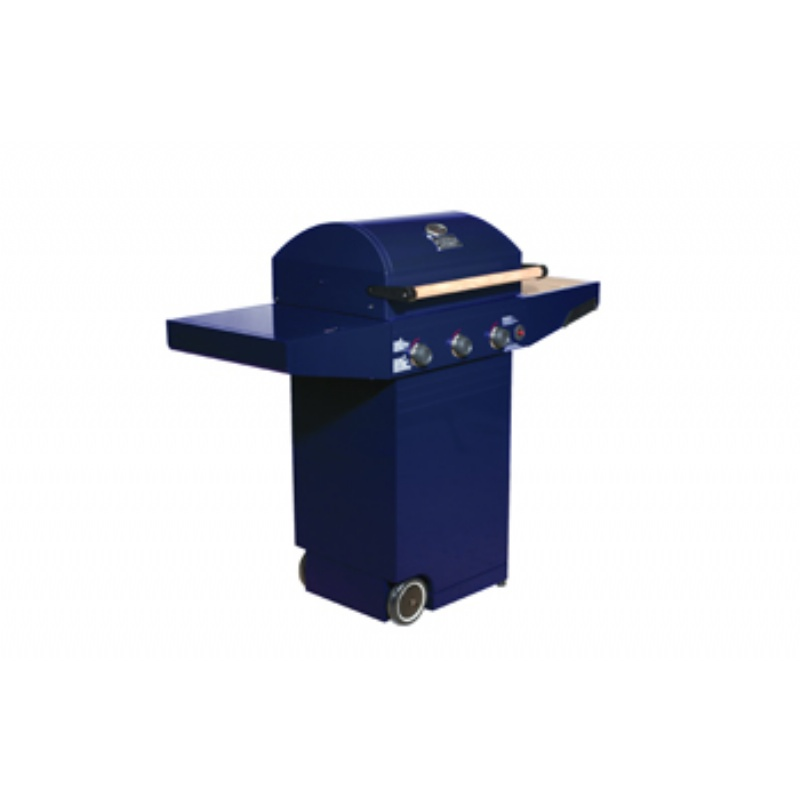 Minden Master Propane Gas Grill Blue