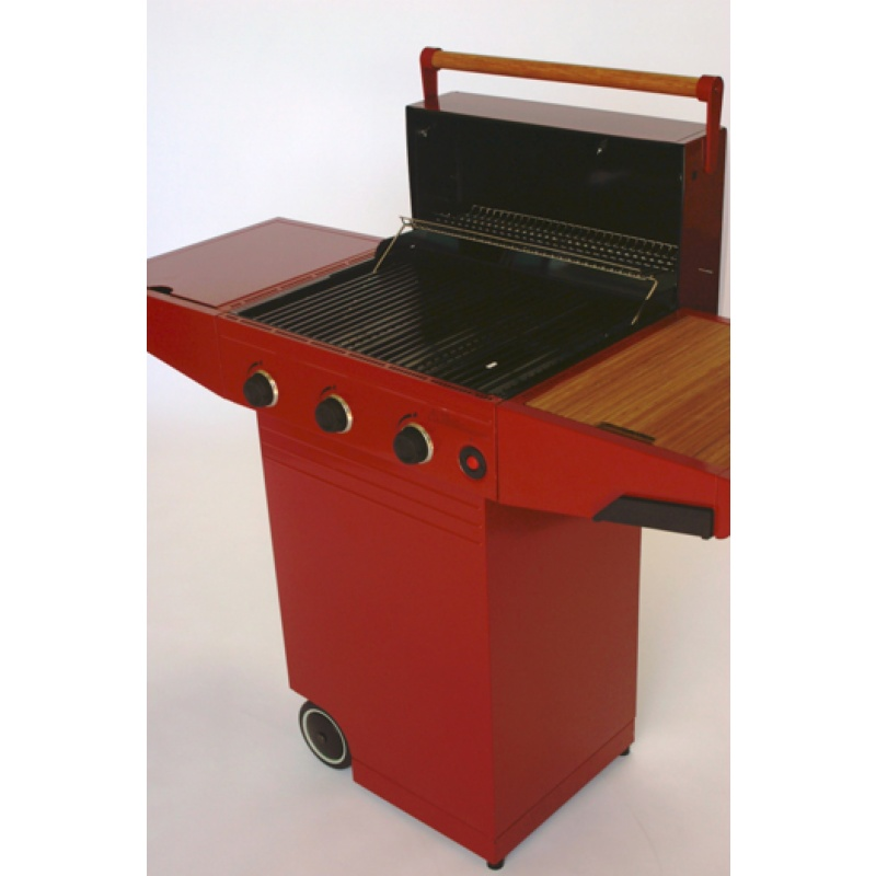 Minden Master Gas Grill Red alternative photo #0