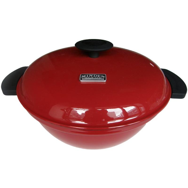 Minden Master Range Top Grill - Red
