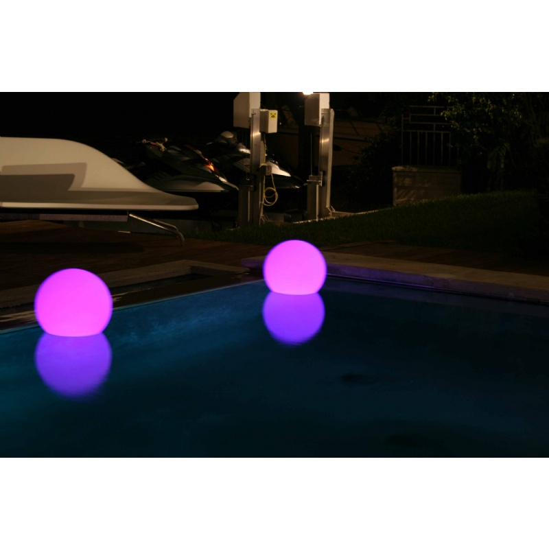 Pool Decor, Floating Lights, Pond Decor: Floating Swimming Pool Lamp Ball 13.8 inch Medium