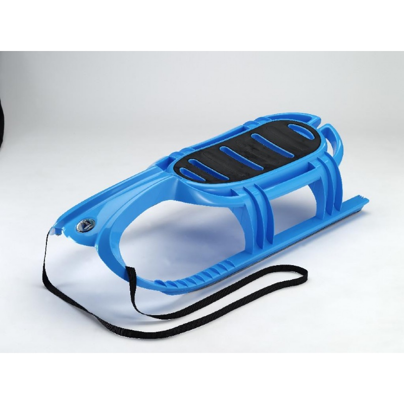 Snow Tiger Plastic Snow Sled Blue : Foam Snow Sleds