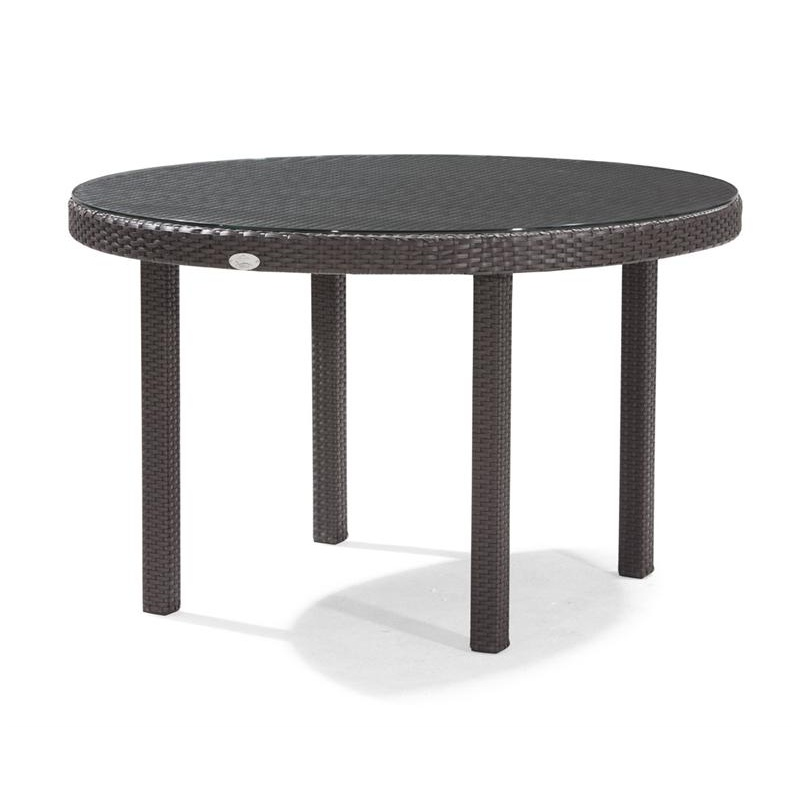 Patio Furniture Clearance: Dijon Round Patio Dining Table 48 inch