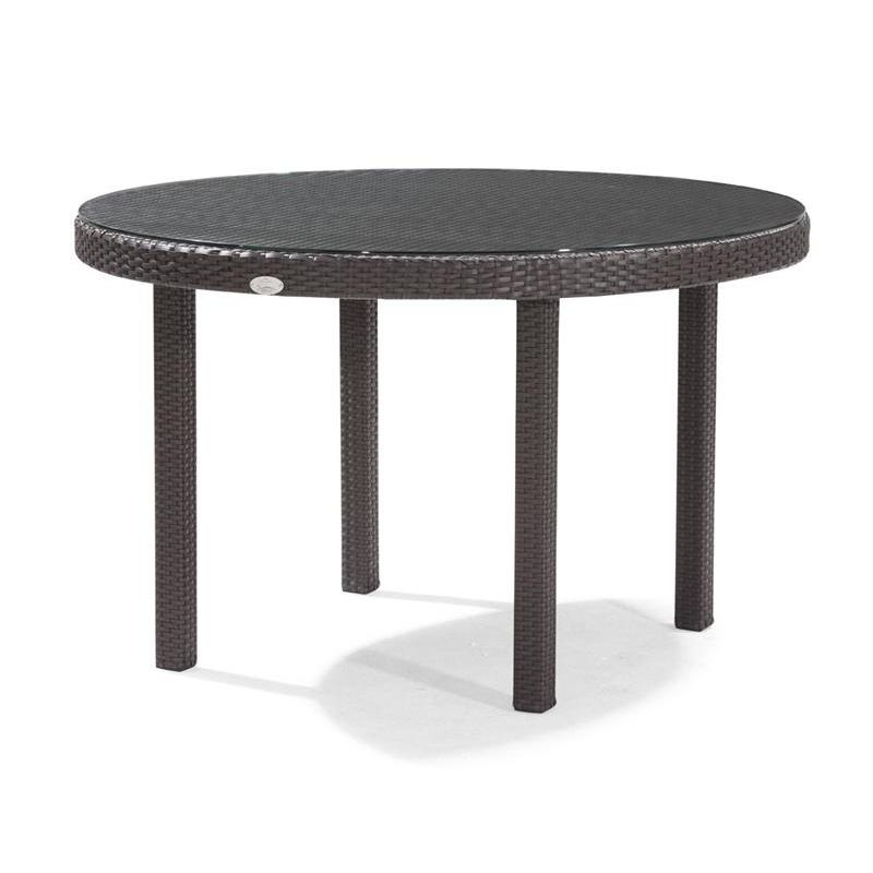 Dijon Round Patio Dining Table 48 Inch CA DJ 825A 48 CozyDays