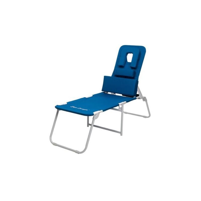 Ergo lounger oh facedown portable beach chaise erl oh for Beach chaise lounger