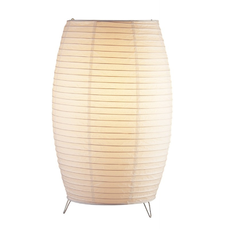 Adesso White Suki Tall Table Lantern