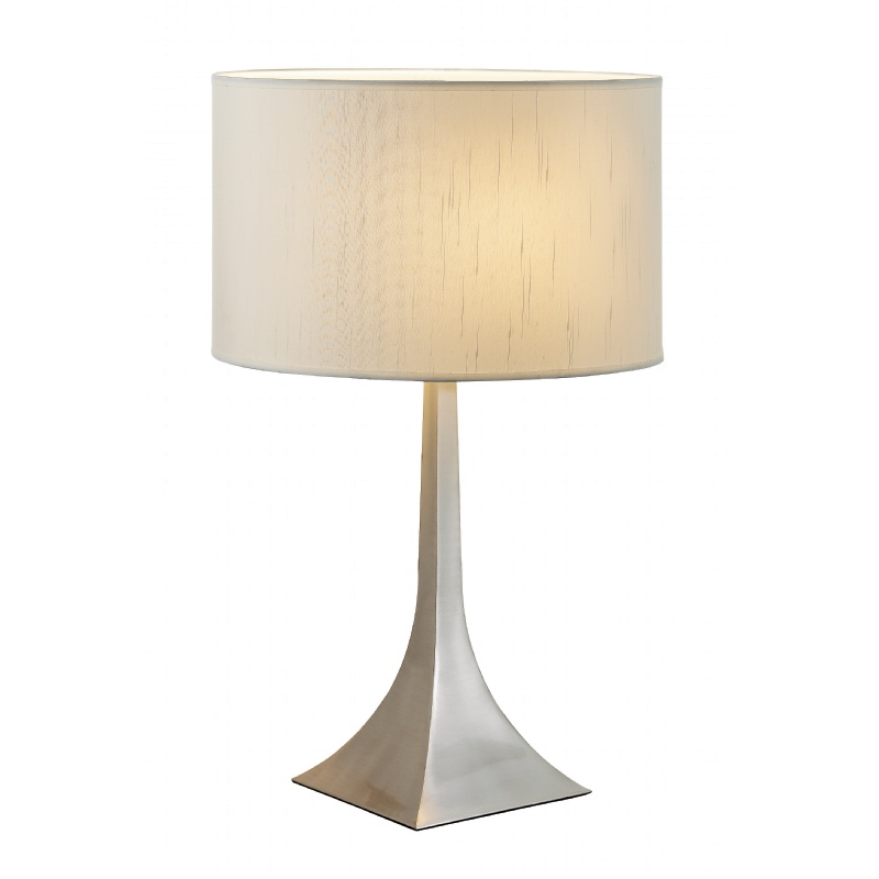 Adesso Steel Luxor Tall Table Lamp