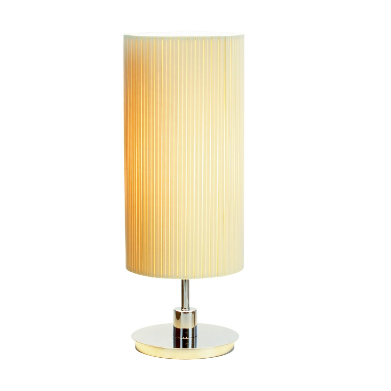 Lighting: Modern Table Lamps: Adesso Chrome Hepburn Table Lamp
