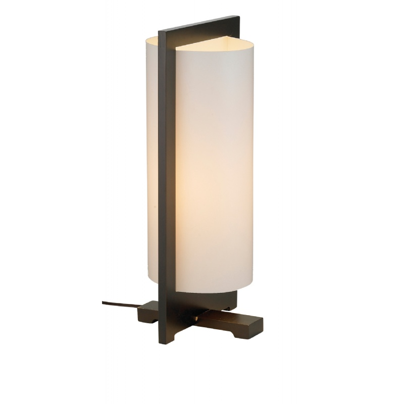 Adesso Walnut Zen Table Lamp