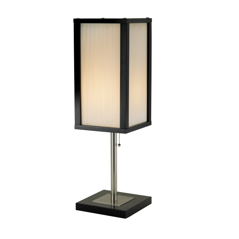 Adesso Black Berk Table Lamp