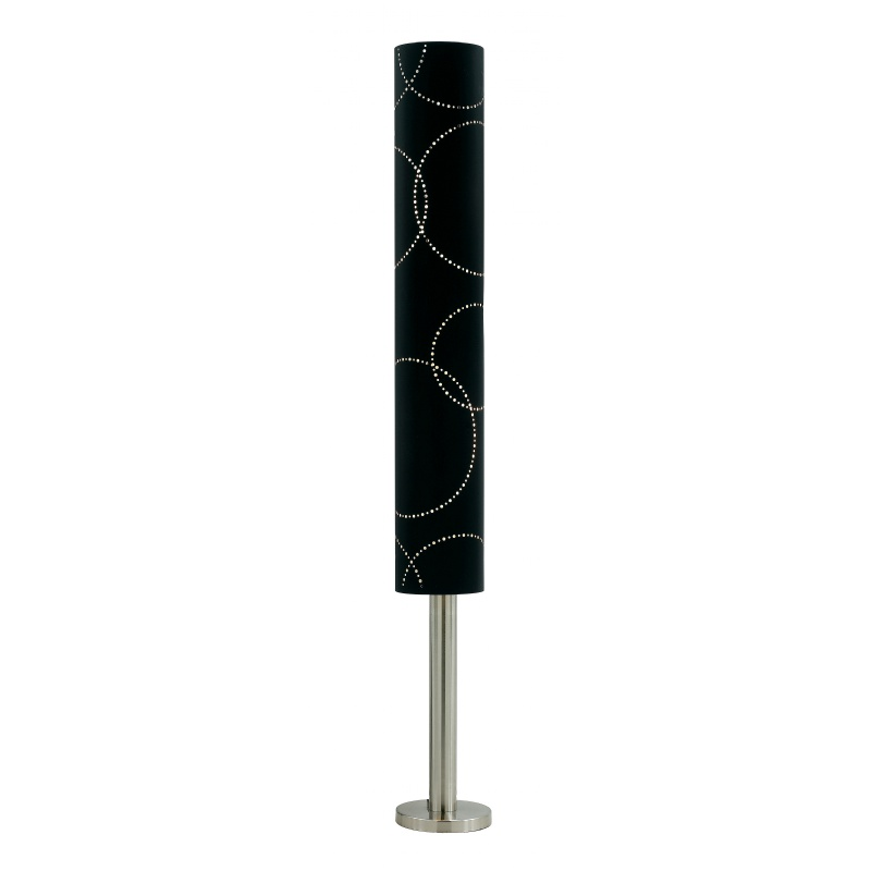 Lighting: Modern Table Lamps: Adesso Black Solaris Floorchiere®
