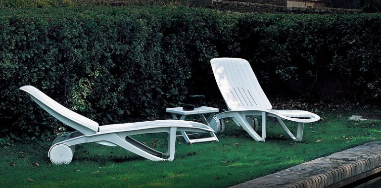 Cormoran Outdoor Chaise Lounge Chair