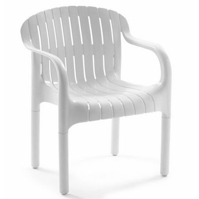 Dangari Resin Outdoor Dining Arm Chair