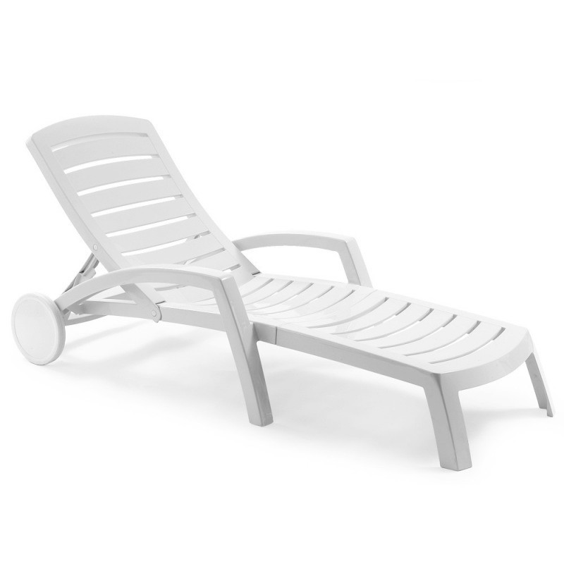 Ascot lacquered resin pool chaise lounge for Pvc pipe lounge chair