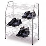 Organize it All 4 Tier Storage Shelf Chrome 19701