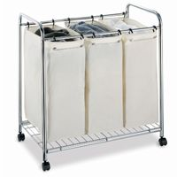 Organize it All 3 Section Laundry Sorter 1763