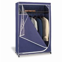 Organize it All Blue Deluxe Storage Wardrobe 74046