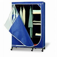 Organize it All Blue Storage Armoire 75116-1P