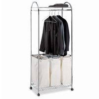 Organize it All Chrome Laundry Center 1777