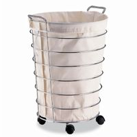 Organize it All Jumbo Laundry Basket with Canvas Bag 1761
