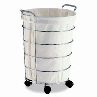 Organize it All Laundry Basket with Canvas Bag 1766